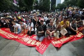 """【重磅】百名国人在大马哭诉""""MBI""""骗千亿人民币 中国驻马大使馆促尽速调查"""