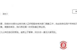 【曝光】BISS负责人正在配合有关部门调查,10月30日曾被带走约20人