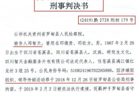 【重磅】智天金融最新消息: 邓智天被判13年!处罚金1000万元!