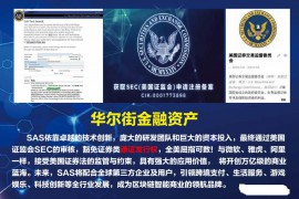 【曝光】SAS国际公链,获得SEC申请注册备案?都是骗局,团队全部都造假!