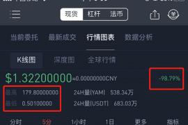【曝光】充值10万瞬间变成860元,YAM一日崩盘记!