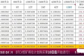 【曝光】比特金库BTCV崩盘,操盘手疑似圈钱已跑路!